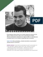 Andrés Jiménez - Periodista