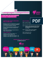 sbs national languages competition 2017 - a4 flyer
