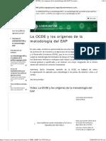 1 La OCDE y Los Origenes de La Metodologia EAP
