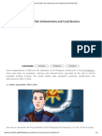 Philippine Presidents_ Their Achievements and Contributions _ INFINITHINK