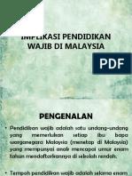 Implikasi Pendidikan Wajib Di Malaysia