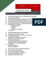 Bibliología 1