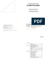 CLIMATOLOGIA Procesos y Tipos Climáticos Bruniard