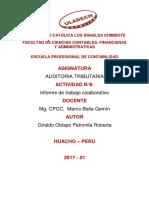 Actividad 06_ Informe de Trabajo Colaborativo Chimbote de Chica
