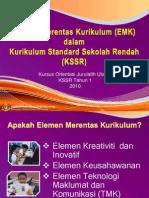 EMK Dalam KSSR Kursus Orientasi JU