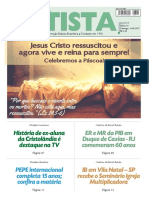 O Jornal Batista Nº 16 - 16.04.2017