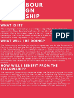 New Zealand Labour Party 2017 Campaign Fellowship