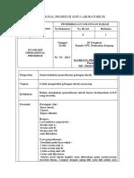 Standart Operasional Prosedur