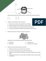 Soalan Sains Kertas 1