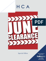 June Clearances