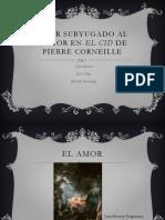 Amor Subyugado Al Honor en El Cid de (1)