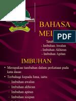 BAHASA MELAYU - a (Imbuhan)