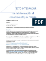 Tarea Modulo 2 Proyecto Integrador