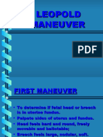 5. Leopolds Maneuver