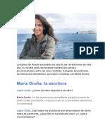 Maria Oruña - Escritora