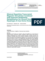 PAPER [ENG] - Bilateral Repetitive Transcranial Magnetic Stimulation With Intensive Swallowing Rehabilitation for Chronic Stroke Dysphagia