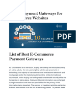 Top 10 Payment Gateways for Ecommerce website.pdf