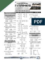 Simulacros PNP - Aptitud - Conocimientos