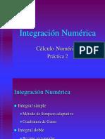 Prácticas integración numérica