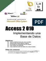 Lab03 2010 Implementando Una Base de Datos