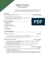 planning 10 resume