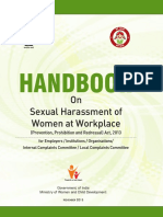 Handbook on Sexual Harassment of Women at Workplace.pdf