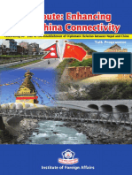 Silk Route Enhancing Nepal China Connectivity Ebook1