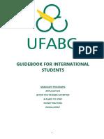 Guidebook Graduate Programs