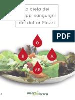 eBook Dieta Gruppi Sanguigni Mozzi