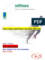 New Pass4itsure Cisco 300-560 Dumps PDF - NPDEV Developing with Network Programmability