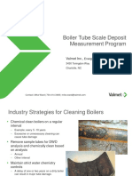 Boiler Tube Scale Deposit Measurement Program OVERVIEW-A