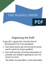Parts of School Paper