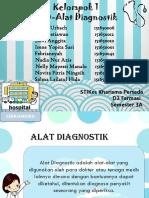 Kelompok 1 Alat Diagnostik Ppt
