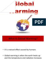 Global Warming english