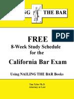 Bar Exam Study Schedule (1)