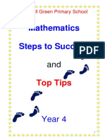 Yr4 Steps to Success and Top Tips