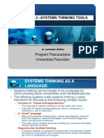 Systems Thinking Tools - 5