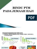 Posbindu PTM Jemaah Haji Horison 2016.ppt
