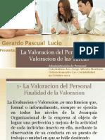 La Valoracion Del Personal Admon Personal
