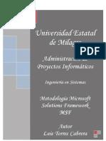 Modelo MSF