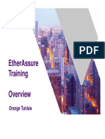 EtherAssure Training - Session 1b- Products-UseCases OTN