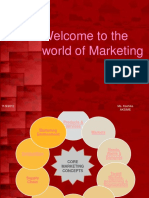 Welcome to the World of Marketing (1)