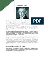 1-Biografía de Immanuel Kant