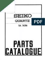 Seiko 7A28 parts