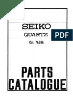 Seiko 7A38 parts