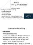 Unit3Commercial Banking