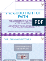 The Good Fight of Faith-.ppt