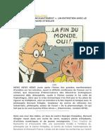 STIEGLER LE GRAND DÉSENCHENTEMENT (ENTRETIEN 2011)