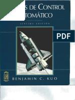 Sistemas de Control Automatico -  7ª Ed Benjamin c Kuo