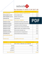 Income Tax Calculator FY 2016 17